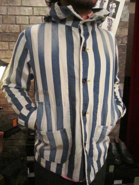 "AmanjaKania \""Big Stripe Pants&Parka\"" ご紹介_f0191324_9462563.jpg"