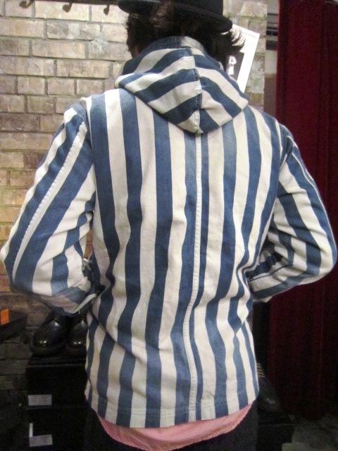 "AmanjaKania \""Big Stripe Pants&Parka\"" ご紹介_f0191324_9463364.jpg"