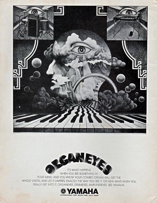 """Yamaha Combo Organ 1971 \""""ORGANEYES\""""_e0045459_9442119.jpg"""