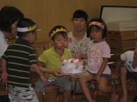 8月のお誕生日会_c0151262_1538739.jpg