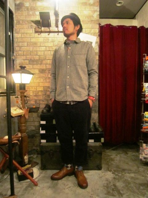 "AmanjaKania \""Round Coller Nep Shirts\"" ご紹介_f0191324_9475216.jpg"