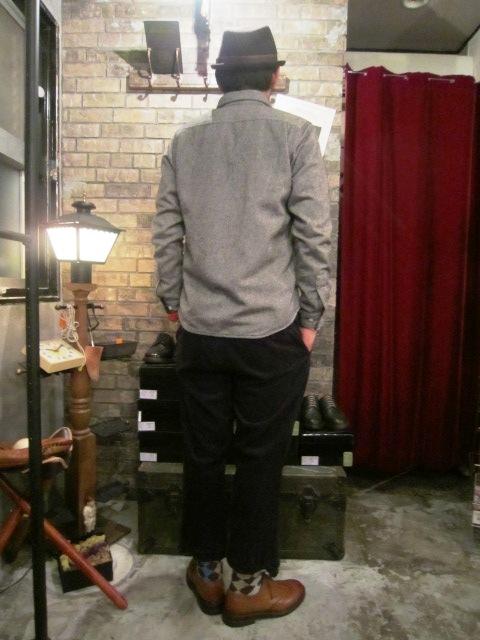 "AmanjaKania \""Round Coller Nep Shirts\"" ご紹介_f0191324_94755100.jpg"