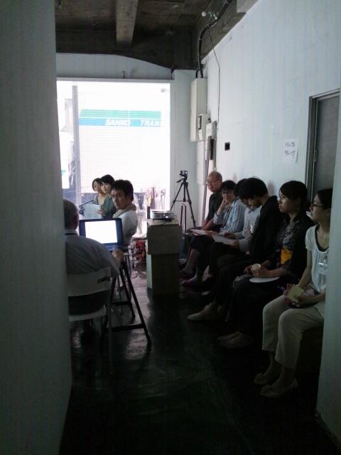 第1回大江戸町人アカデミーのテーマは「べったら市の町、旧大伝馬町の伝統」_d0058440_7155339.jpg