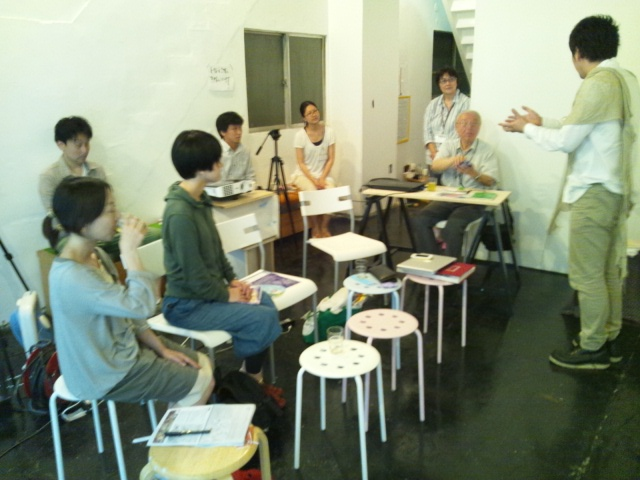 第1回大江戸町人アカデミーのテーマは「べったら市の町、旧大伝馬町の伝統」_d0058440_717749.jpg