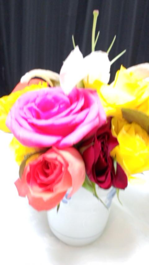お花を活けましたぁ_e0114246_894117.jpg