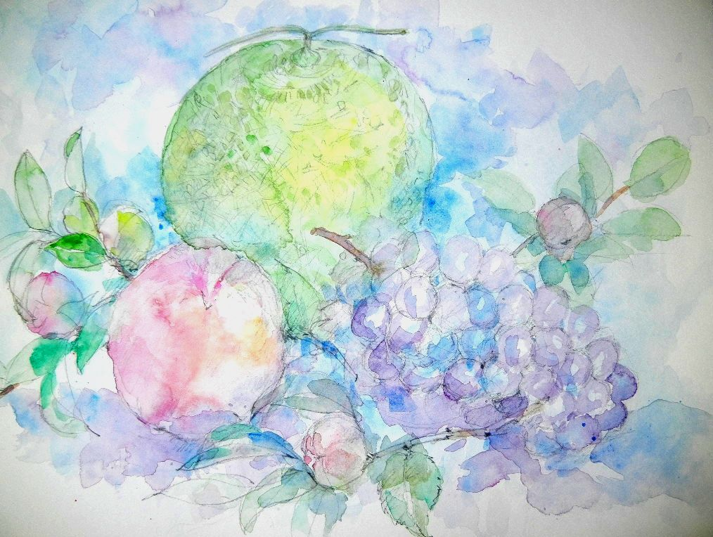 '12,9,11(火)果物の絵を描いたよ!_f0060461_10512358.jpg
