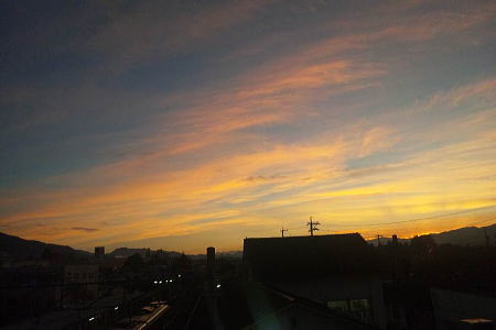 またまた朝焼け_a0026295_16383698.jpg