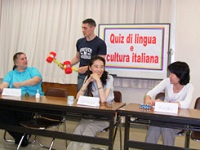 Quiz di lingua e cultura italiana クイズ大会_e0170101_1159381.jpg