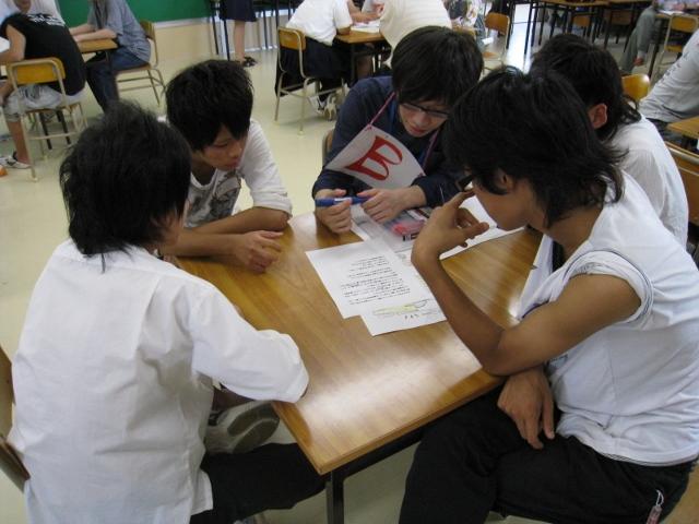 新潟県立翠江高等学校において「女はズボン!?男はスカート!?」のワークショップを実施しました。 _c0167632_1765173.jpg