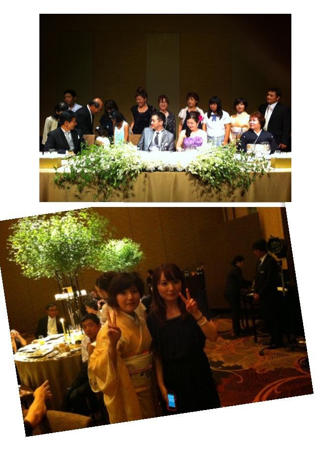 120912 9月9日結婚式&リュードゥリュー_f0164842_21474933.jpg