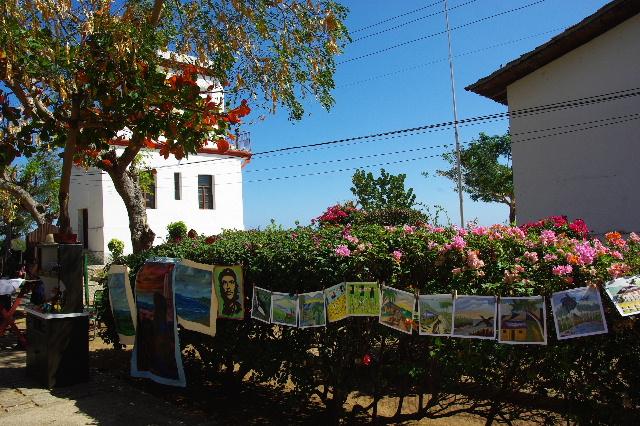 キューバ (61) モロ要塞の土産屋通りをぽれぽれと・・・_c0011649_23583683.jpg