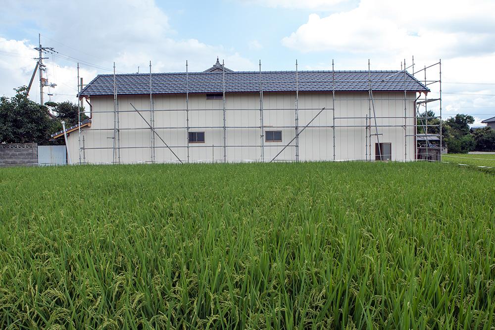 大型納屋の雨漏り対策と補強 〜その2〜_a0163962_933560.jpg