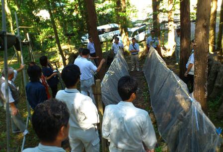 平成24年度森林組合椎茸栽培技術指導研修会が開催されました。_a0284279_17145936.jpg