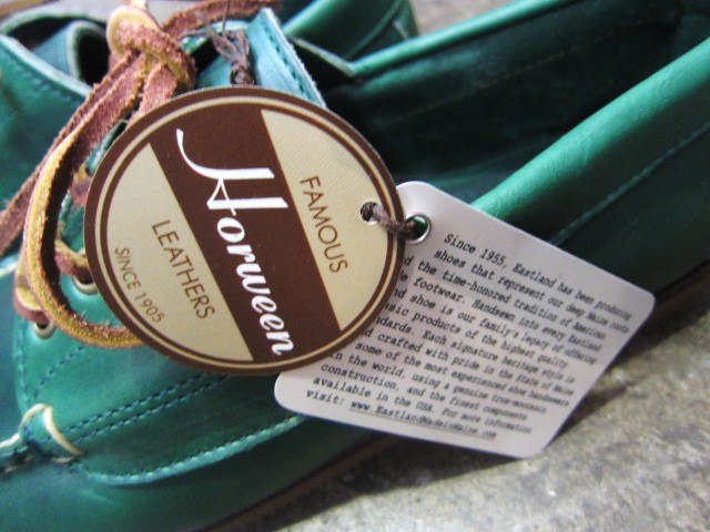 US 本格Moccasin 入荷♪ By EastLand ・・・ FALMOUTH Moccasin_d0152280_20242225.jpg