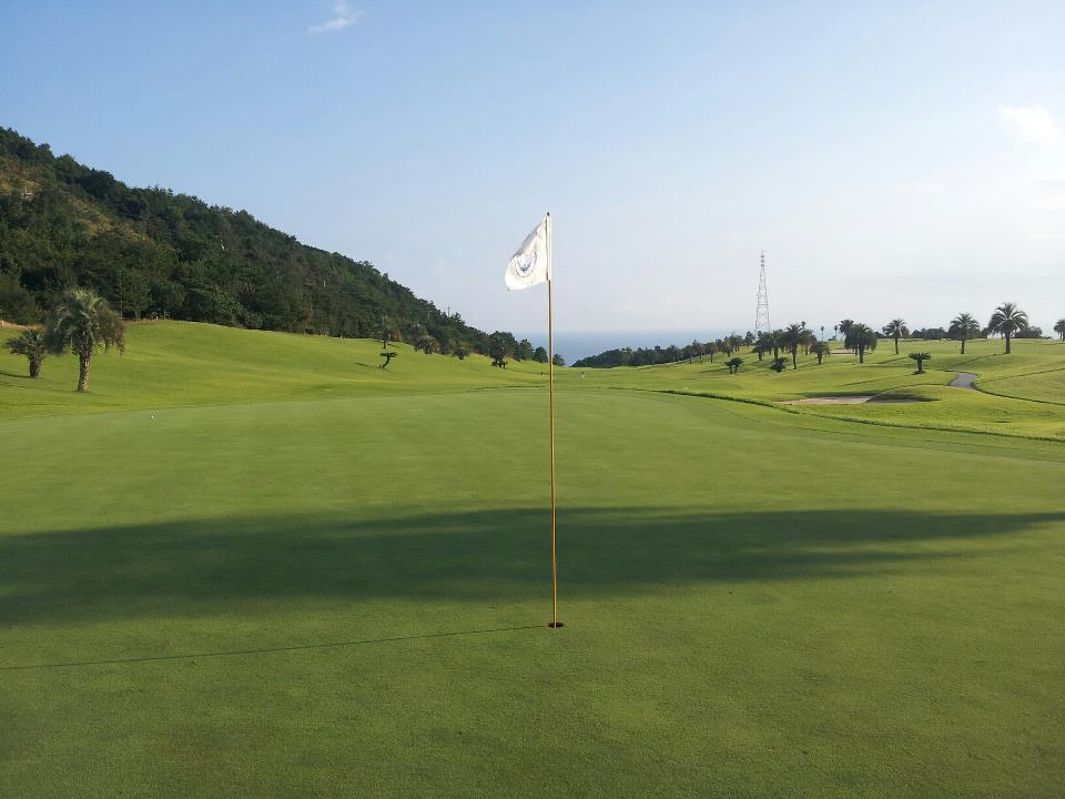 故郷、新居浜からゴルフの遠征隊が黒潮カントリーへ!_c0186691_13113279.jpg