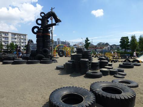 東京旅2/4  蒲田タイヤ公園 _e0022403_2248217.jpg