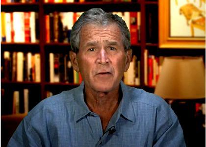 ジョージ・ブッシュがフェイスブックに参加!?:一種の罪滅ぼし!?_e0171614_22465092.jpg
