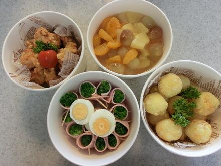 ランチのお客様とお惣菜・・・♪ 9/13②_b0247223_15274885.jpg