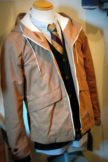 ◆Wax Cotton Hooded Blouson_e0142928_19303549.jpg