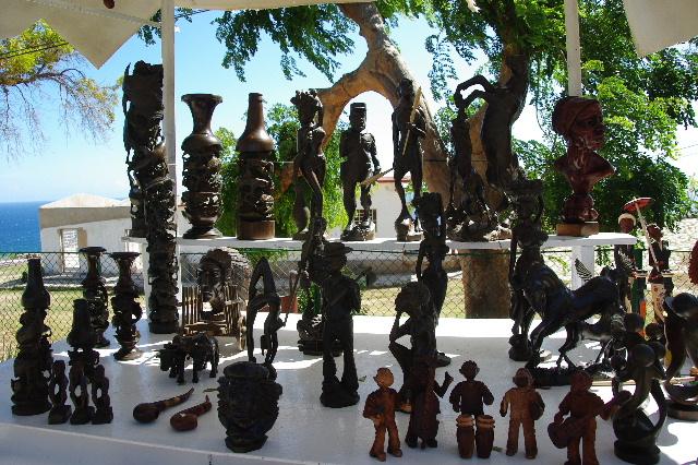 キューバ (61) モロ要塞の土産屋通りをぽれぽれと・・・_c0011649_005317.jpg