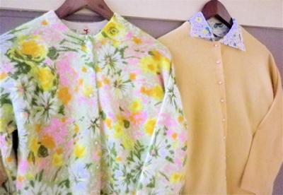 New Arrival Vintage Cardigan!+SNAP×SNAP!_e0148852_17563358.jpg