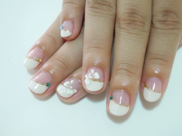 White French Nail_a0239065_175637.jpg