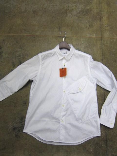 お待たせしました!★ Kato ・・・当店・別注 BIG Pocket SHIRTS (WHITE)入荷♪ _d0152280_2349566.jpg