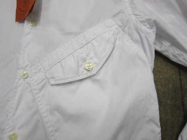 お待たせしました!★ Kato ・・・当店・別注 BIG Pocket SHIRTS (WHITE)入荷♪ _d0152280_23503351.jpg