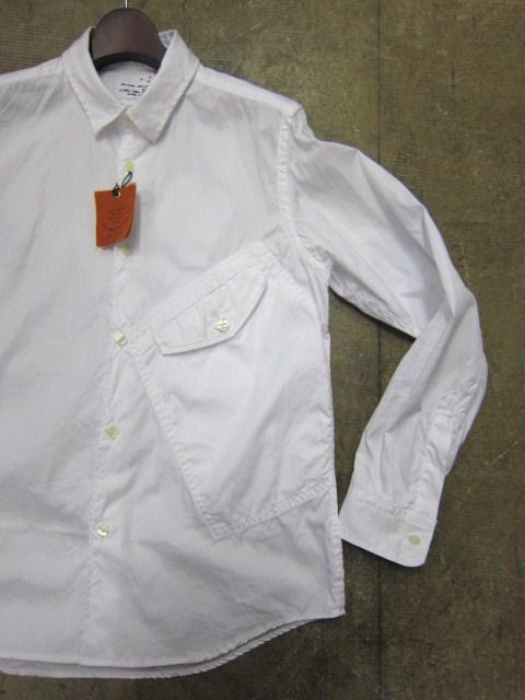 お待たせしました!★ Kato ・・・当店・別注 BIG Pocket SHIRTS (WHITE)入荷♪ _d0152280_2350569.jpg