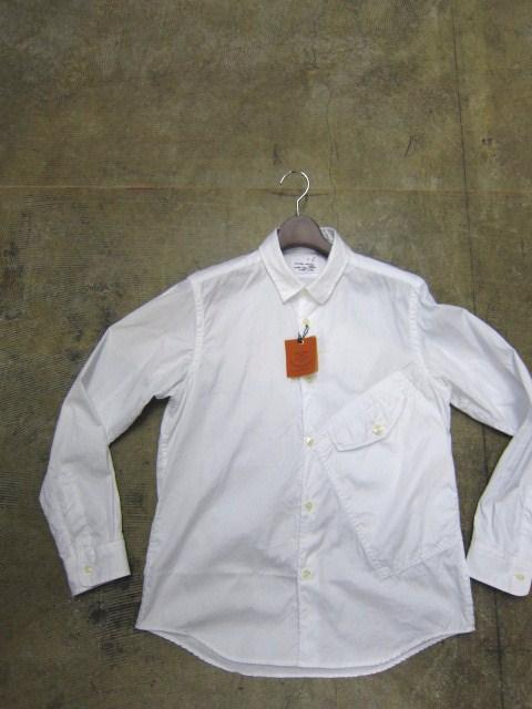 お待たせしました!★ Kato ・・・当店・別注 BIG Pocket SHIRTS (WHITE)入荷♪ _d0152280_2351598.jpg
