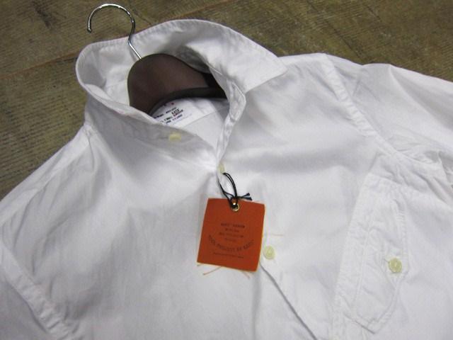 お待たせしました!★ Kato ・・・当店・別注 BIG Pocket SHIRTS (WHITE)入荷♪ _d0152280_2352387.jpg