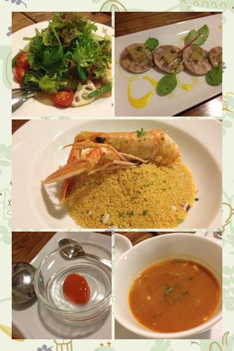 ラ クチーナ イタリアーナ ウエキ シチリア料理 美味しくて、妙に居心地のよい店_a0194908_0472673.jpg