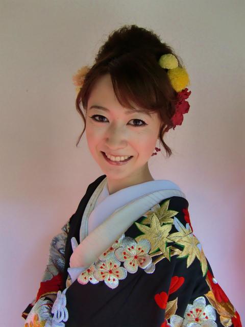 白無垢のヘッドドレス ユリのメリアの髪飾り 八芳園様へ_a0042928_0513588.jpg
