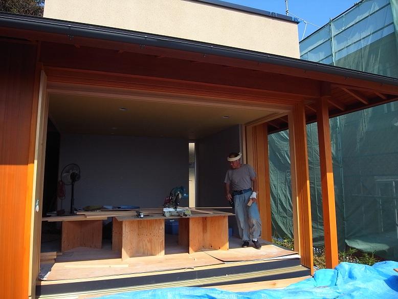 高鈴の家 木工事終盤 2012/9/14_a0039934_1845842.jpg