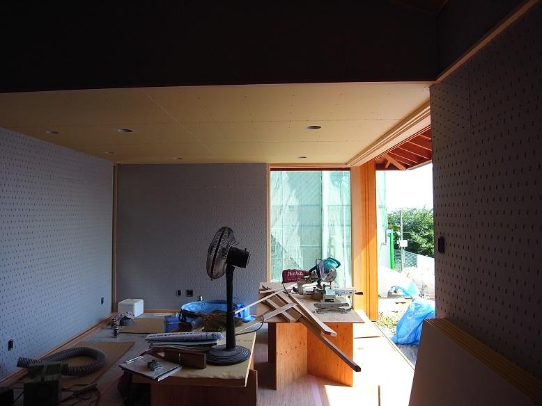 高鈴の家 木工事終盤 2012/9/14_a0039934_1852979.jpg