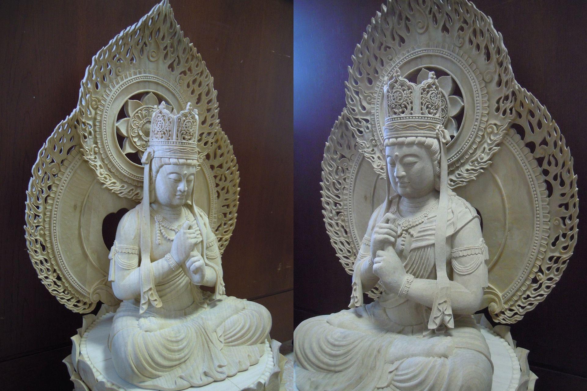中国の福建省の仏像メーカへオーダーした仏像です。大日如来仏像が小さい物し... 中間市ってどこ!