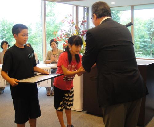 第20回学校花壇コンクール表彰式_e0145841_19455046.jpg