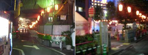 お祭りの前夜祭_d0183174_19504069.jpg