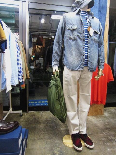 お待たせしました!★ Kato ・・・当店・別注 BIG Pocket SHIRTS (WHITE)入荷♪ _d0152280_031624.jpg