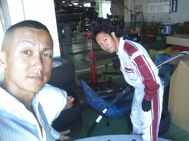 札幌トヨタにシグナスのパーツ引き取り_b0127002_1023159.jpg