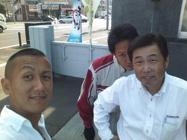 札幌トヨタにシグナスのパーツ引き取り_b0127002_1023270.jpg