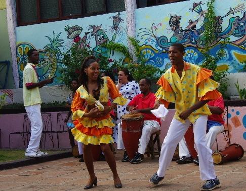 キューバ (64) カーニバル博物館のアフロ・キューバン・ダンス_c0011649_23151488.jpg