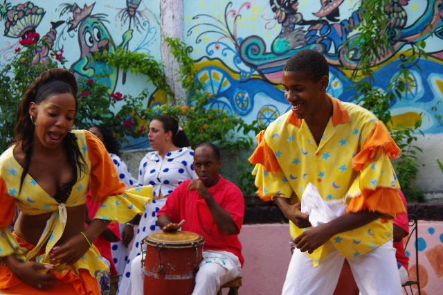 キューバ (64) カーニバル博物館のアフロ・キューバン・ダンス_c0011649_23161366.jpg