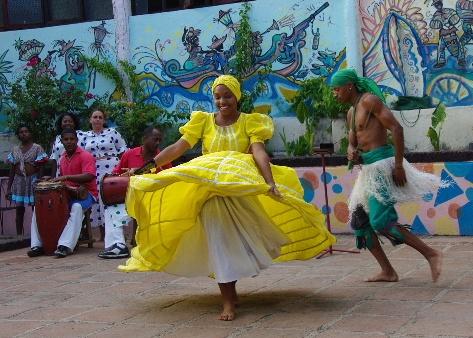 キューバ (64) カーニバル博物館のアフロ・キューバン・ダンス_c0011649_23171651.jpg