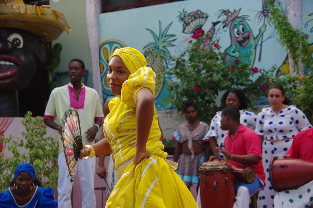 キューバ (64) カーニバル博物館のアフロ・キューバン・ダンス_c0011649_23183436.jpg