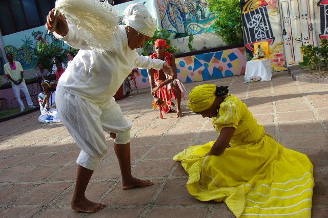 キューバ (64) カーニバル博物館のアフロ・キューバン・ダンス_c0011649_2320937.jpg