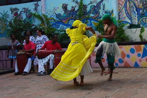 キューバ (64) カーニバル博物館のアフロ・キューバン・ダンス_c0011649_2346840.jpg