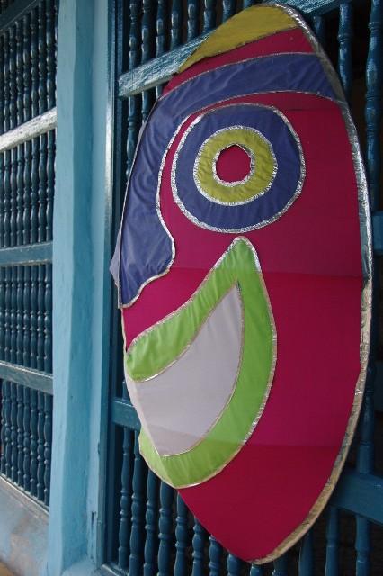 キューバ (63) カーニバル博物館とスタッフとダンサー_c0011649_5411891.jpg