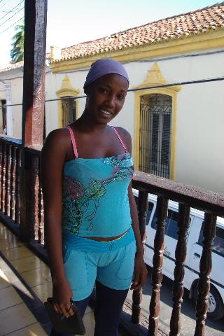 キューバ (63) カーニバル博物館とスタッフとダンサー_c0011649_6231395.jpg