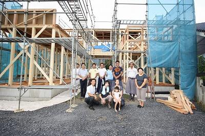 桐生市 菱町  O原様  上棟となりました。_a0084859_18275110.jpg